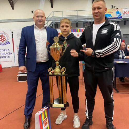 Mistrzostwo Polski bytomskiego pięściarza. Wszystkie walki wygrał przed czasem